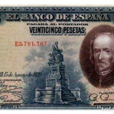 Banconote spagnole: BILLETE DE ESPAÑA DE 25 PESETAS DE 1928 CIRCULADO. Lote 293563918