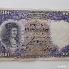 Banconote spagnole: BILLETE 100 PESETAS 1931. Lote 294026958