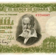 Billetes españoles: BILLETE DE ESPAÑA DE 1000 PESETAS DE 1951 CIRCULADO JOAQUIN SOROLLA. Lote 294122208