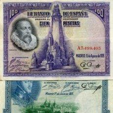 Billetes españoles: 4 BILLETES DE LA REPUBLICA ( BES41 ). Lote 296749023