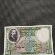 Billetes españoles: 1000 PESETAS DE 1931. Lote 296763303