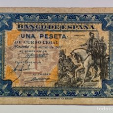 Billetes españoles: BILLETE 1 PESETA 1940 HERNAN CORTES. Lote 296869308
