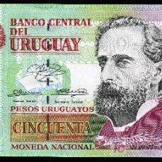 Billetes extranjeros: URUGUAY: 50 PESOS 2003 S/C PICK 84. Lote 194730318