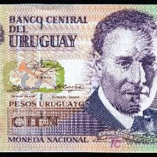 Billetes extranjeros: URUGUAY: 100 PESOS 2003 S/C PICK 85. Lote 194730337
