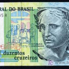 Billetes extranjeros: BRASIL : 200 CRUCEIROS 1990 PICK : 229 S/C. Lote 57228229