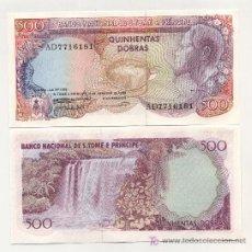 Billetes extranjeros: SANTO. TOME Y PRINCIPE 500 DOBRAS 4-1-1989 PICK 61 SC. Lote 26952523