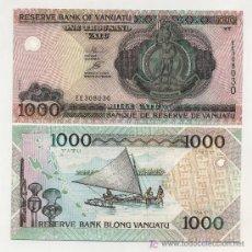 Billetes extranjeros: VANUATU 1000 VATU ND 2005 PICK NUEVO SC. Lote 26952538