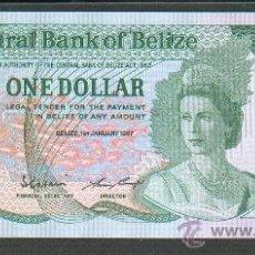 Billetes extranjeros: BILLETE BELIZE BELICE 1 DOLAR 1987 SC. Lote 27510591