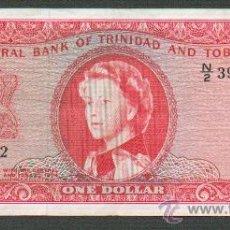 Billetes extranjeros: BILLETE TRINIDAD Y TOBAGO 1 DOLAR 1964 EBC-. Lote 26175354