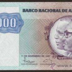 Billetes extranjeros: ANGOLA. 1000 KWANZAS 11.11.1987. PICK 121B. S/C.. Lote 26710869