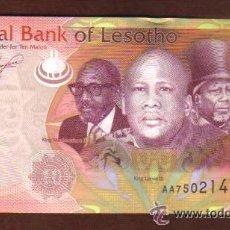 Billetes extranjeros: LESOTHO - 10 MALOTI P.NUEVO SC UNC . Lote 28143259
