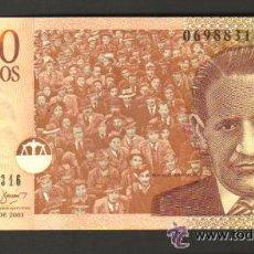 Billetes extranjeros: COLOMBIA - 1.000 PESOS 2001 SC P.450 UNC . Lote 28169871