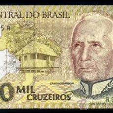 Billetes extranjeros: BRASIL : 1000 CRUZEIROS (1990) S/C PICK 231B. Lote 28577897