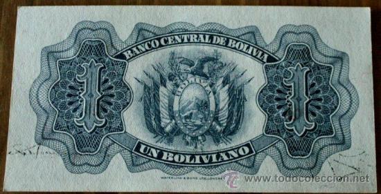 Billetes extranjeros: Reverso del billete - Foto 2 - 32978587