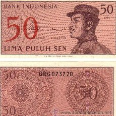 Billetes extranjeros: INDONESIA 50 SEN SC. Lote 75764389