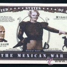 Billetes extranjeros: 1 MILLON DE DOLARES CONMEMORATIVO ( GUERRAS USA - GUERRA CONTRA MEXICO 1846 -1848 ) Nº5. Lote 84143918