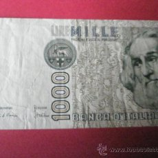 Billetes extranjeros: BILLETE DE ITALIA-1.000 LIRAS-MARCO POLO-1982-.. Lote 35905764