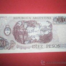 Billetes extranjeros: BILLETE DE ARGENTINA-DIEZ PESOS-NO DATADO-GL.BELGRANO-PLANCHA.. Lote 35939490