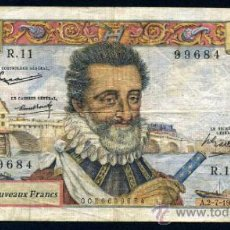 Banconote internazionali: FRANCIA : 50 FRANCOS 2/7/1959 MBC PICK 143. Lote 36032161