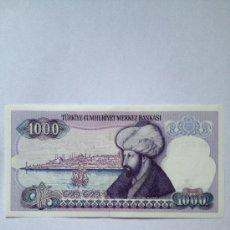 Banconote internazionali: 1000 LIRAS TURKAS. Lote 38115743