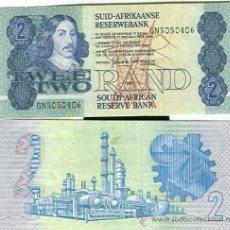 Billetes extranjeros: SUD-AFRICA N 118B SING 6 - 2 RAND DE 1989. S/C. Lote 40866794