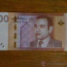 Billetes extranjeros: MARRUECOS. 100 DIRHAMS DE 2012 / 2013 (PICK 76) SIN CIRCULAR. Lote 43805234
