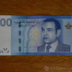 Billetes extranjeros: MARRUECOS. MOHAMMED VI. BILLETE DE 200 DIRHAMS DE 2013 (PICK 77) SIN CIRCULAR. Lote 131350113