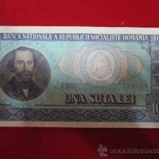 Billetes extranjeros: 100 LEI 1960 RUMANIA. Lote 39214310