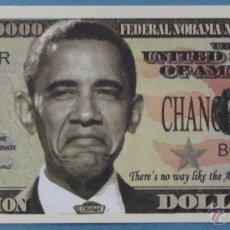 Billetes extranjeros: BILLETE EEUU CONMEMORATIVO. DÓLAR. BARACK OBAMA. POLÍTICO ESTADOS UNIDOS. DÓLARES. PERFECTO. . Lote 155897481