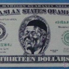 Billetes extranjeros: BILLETE EEUU CONMEMORATIVO. DÓLAR. BILL CLINTON, POLÍTICO ESTADOS UNIDOS. DÓLARES. PERFECTO. . Lote 39335576
