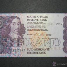 Billetes extranjeros: BILLETE DE 5 RAND SUDÁFRICA, PICK 119E, NUEVO PLANCHA SC. Lote 40534589