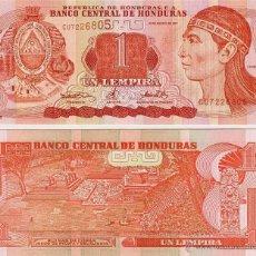 Billetes extranjeros: HONDURAS 1 LEMPIRA 2008 SC PLANCHA. Lote 103262540