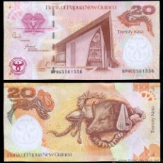 Billetes extranjeros: PAPUA NUEVA GUINEA 20 KINA 2008 CONMEMORATIVO 35 ANIVERSARIO DEL BANCO 1973 - 2008 PICK 36 SC UNC. Lote 195188692