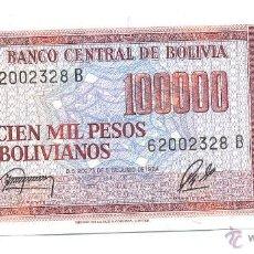 Billetes extranjeros: BILLETE BOLIVIA. Lote 43362715