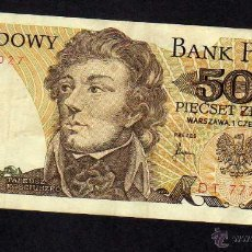 Billetes extranjeros: POLONIA: BILLETE 500 ZLOTYCH 1982 - P145D. Lote 43693950