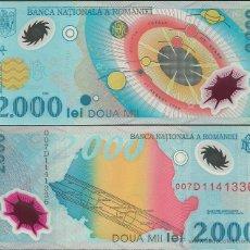 Billetes extranjeros - Rumanía 2000 lei 1999 Pick#111a SC - 44830260