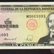 Billetes extranjeros: BILLETE BANCO CENTRAL REPUBLICA DOMINICANA CALIDAD PLANCHA MAS BILLETES EN MI TIENDA VISITALA. Lote 45541028