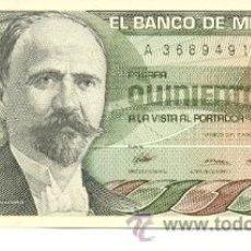 Billetes extranjeros: 6-MEJ79. BILLETE MEJICO P-79. 500 PESOS 1984. Lote 46928935