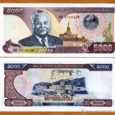Billetes extranjeros: LAOS - 5000 KIP - AÑO 1997 - S/C. Lote 58667614
