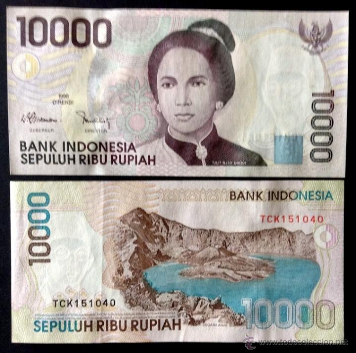 1998 A-UNC P-137a Indonesia 10000 10,000 Rupiah