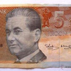 Billetes extranjeros: 5 KROONI DE ESTONIA DEL 1994. Lote 48210222