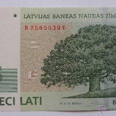 Billetes extranjeros: 5 LATI DE LETONIA DEL 2009. Lote 48210255