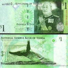 Billetes extranjeros: TONGA - 1 PA'ANGA - SIN FECHA (2014) - S/C. Lote 96016959