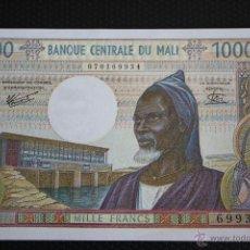 Billetes extranjeros: BANCO DE MALI, 1000 FRANCOS. Lote 49010583