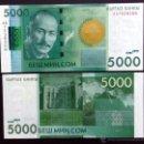 Billetes extranjeros: KIRGUIZSTAN. 5000 SOM 2010. S/C. PICK 30. Lote 161022268