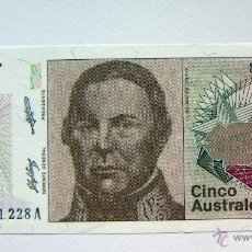 Billetes extranjeros: ARGENTINA 5 AUSTRALES PLANCHA. Lote 49165734