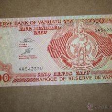 Billetes extranjeros: VANUATU, 500 VATU 1993. Lote 49348024