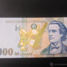 Billetes extranjeros: RUMANIA. 1000 LEI. 1998. Lote 49770130