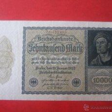 Billetes extranjeros - Alemania. Billete de 10000 marcos. 1922 - 50197257
