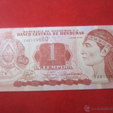 Billetes extranjeros: HONDURAS. 1 LEMPIRA. 2008. Lote 50323423